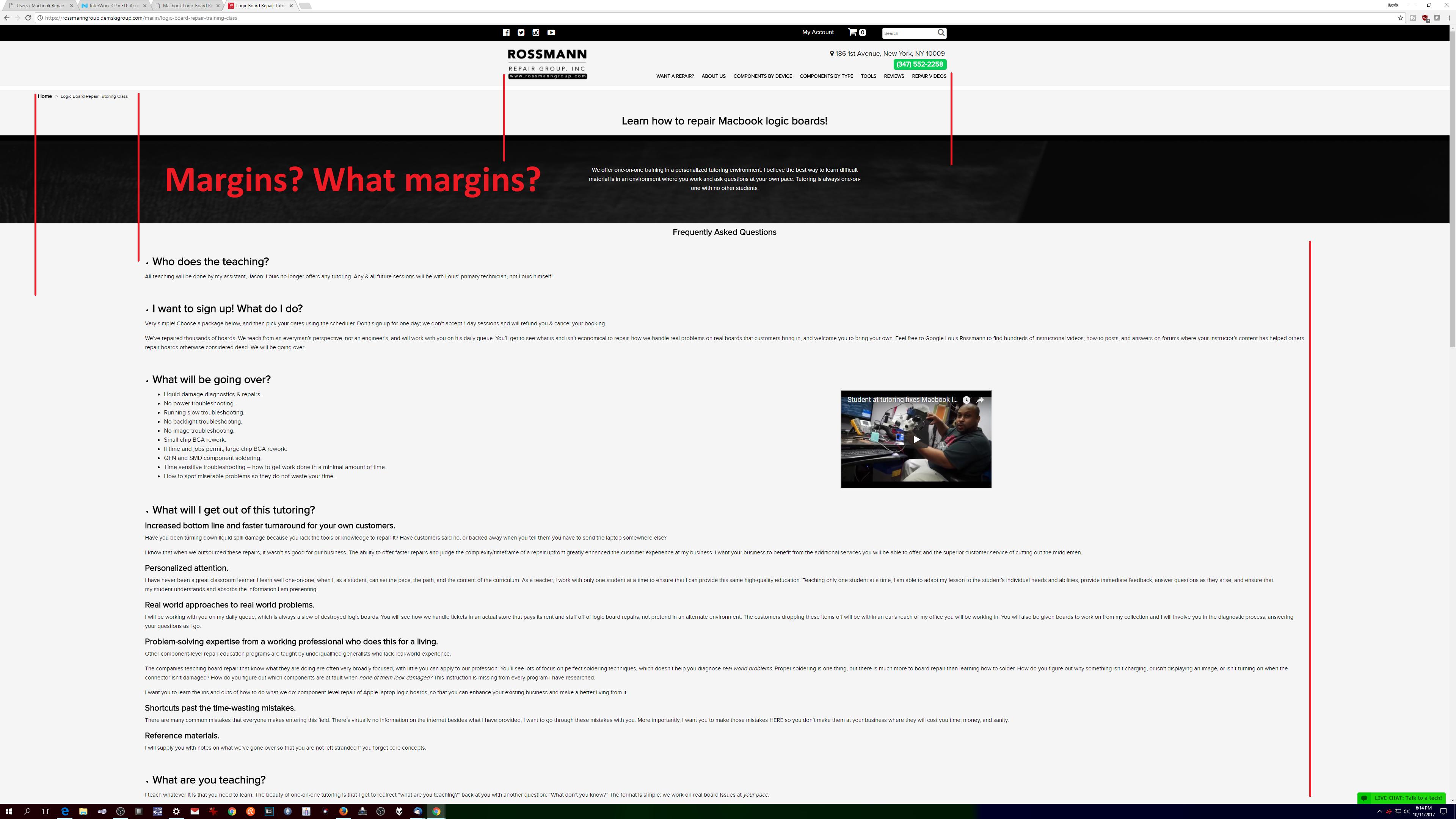 A $4600 Website by the Demski Group & Andrew Demski  | Macbook
